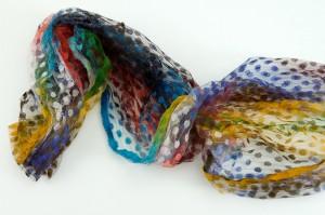 Rainbow scarf 5